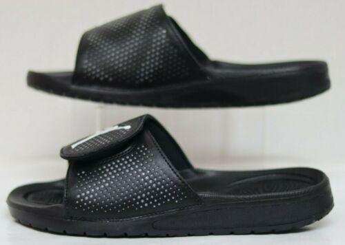 Jordan Hydro 5 BG Black//White-Cool Grey 820258-010 Youth Size 6.0