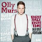 Right Place Right Time [Deluxe Edition] [Digipak] by Olly Murs (CD, Nov-2012, 2 Discs, Epic)