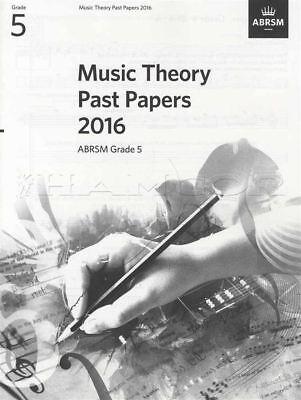 Abrsm Music Theory Past Papers 2016 Grade 5 Exams Tests Sheet Music Book Verlichten Van Reuma En Verkoudheid