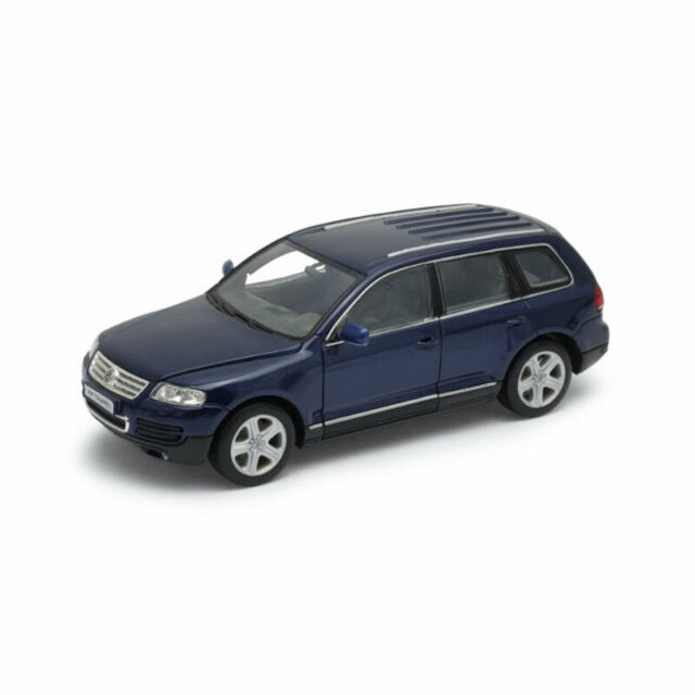 WELLY 22452 VW Touareg Dark Blue Scale 1 24 Model Car °