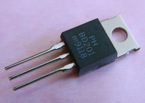 Philips 10x bd201 NPN-transistor 45v 8a 60w