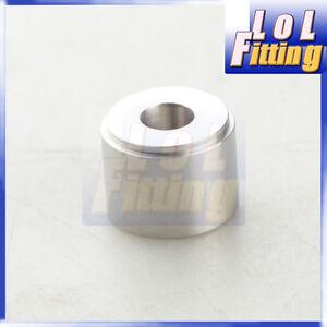 "1/2"" NPT Female steel NPT Weld Bung Fitting Sensor Adapter round Steel"