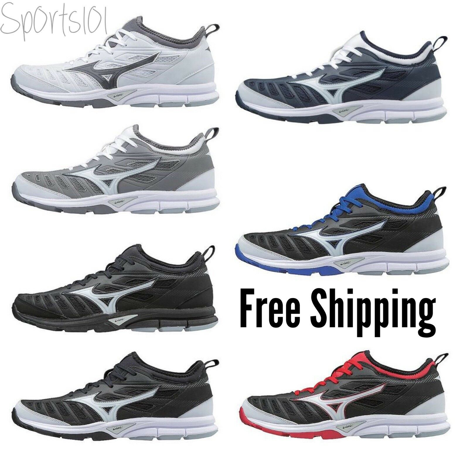 Mizuno Adult Players Trainer 2 Low Baseball Softball shoes 320549
