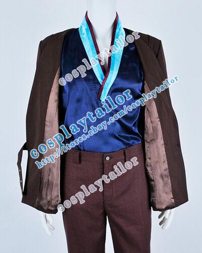 Star Trek II The Wrath Of Khan Hikaru Sulu Cosplay Brown Costume High Quality