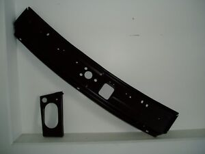 BONNET-LOCK-PANEL-amp-BRACE-MGB-CHROME-BUMPER-BAR-gt-74-458-900-458-910