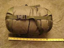 USGI USMC & US Army Green Patrol Sleeping Bag with British Compression sack