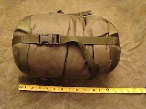 Usgi Usmc Us Army Green Patrol Sleeping Bag With British Compression Sack Ebay