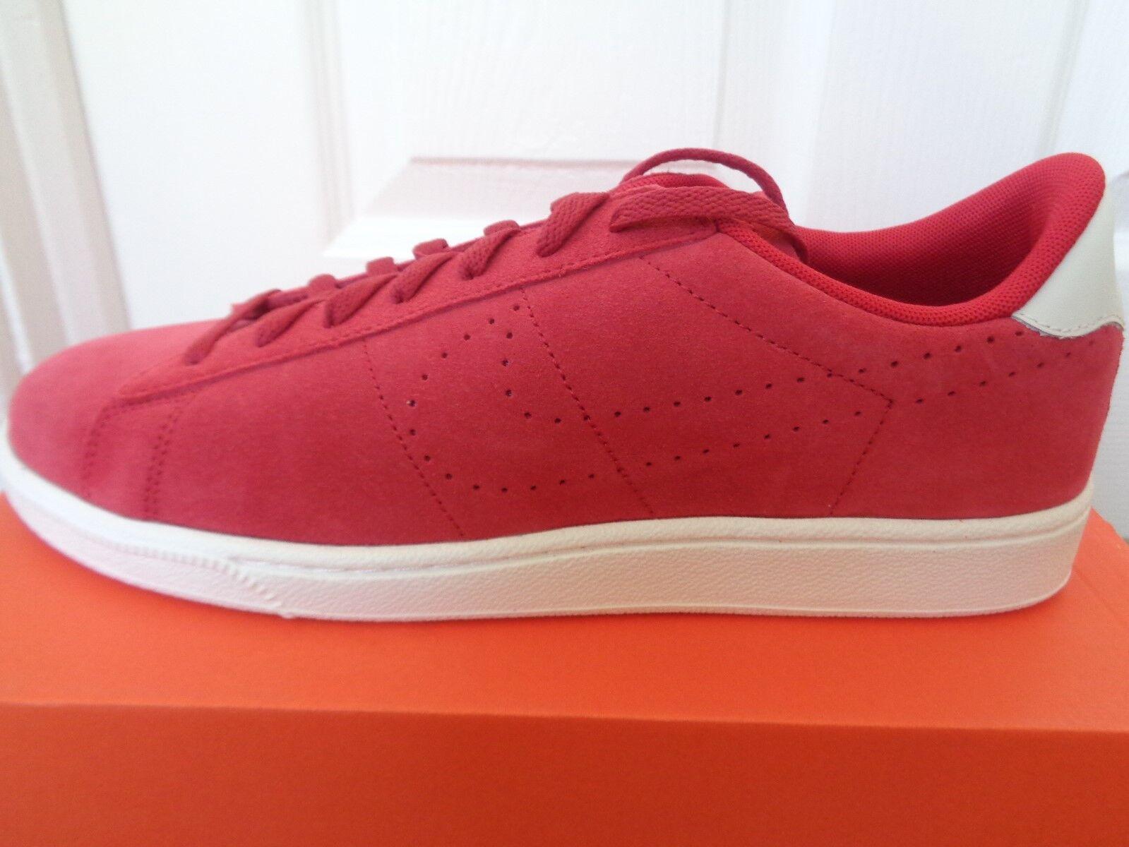 Nike Tennis classic CS Suede trainers trainers trainers schuhe 829351 600 uk 9 eu 44 us 10 NEW+BOX  0e05e2