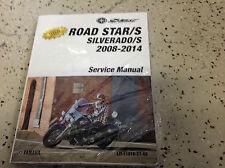 2012 2013 2014 Yamaha Road Star Roadstar/S Silverado/S Service Shop Manual NEW