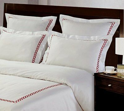 100/% Combed Cotton Duvet Cover Set Queen King Made In Canada  #1604