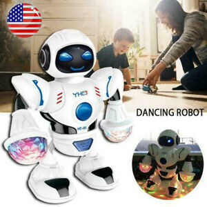 Toys-for-Boys-Dancing-Walking-Toddler-Robot-Lights-Sounds-Baby-Kids-Xmas-Gift-US