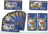 Lego Legends Of Chima Online Card X 10 Eagle Legend Beast X 3 Gorilla Legend Bea