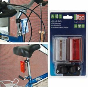 NEW-FLASH-LED-MOUNTAIN-BIKE-BICYCLE-CYCLE-FRONT-REAR-STROBE-LIGHT-LAMP-SET-90553