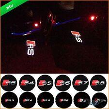 Tür Leuchte Audi A1 A3 A4 A5 A6 A7 A8 Q3 Q5 Q7 TT R8 Shadow Licht Logo Projektor