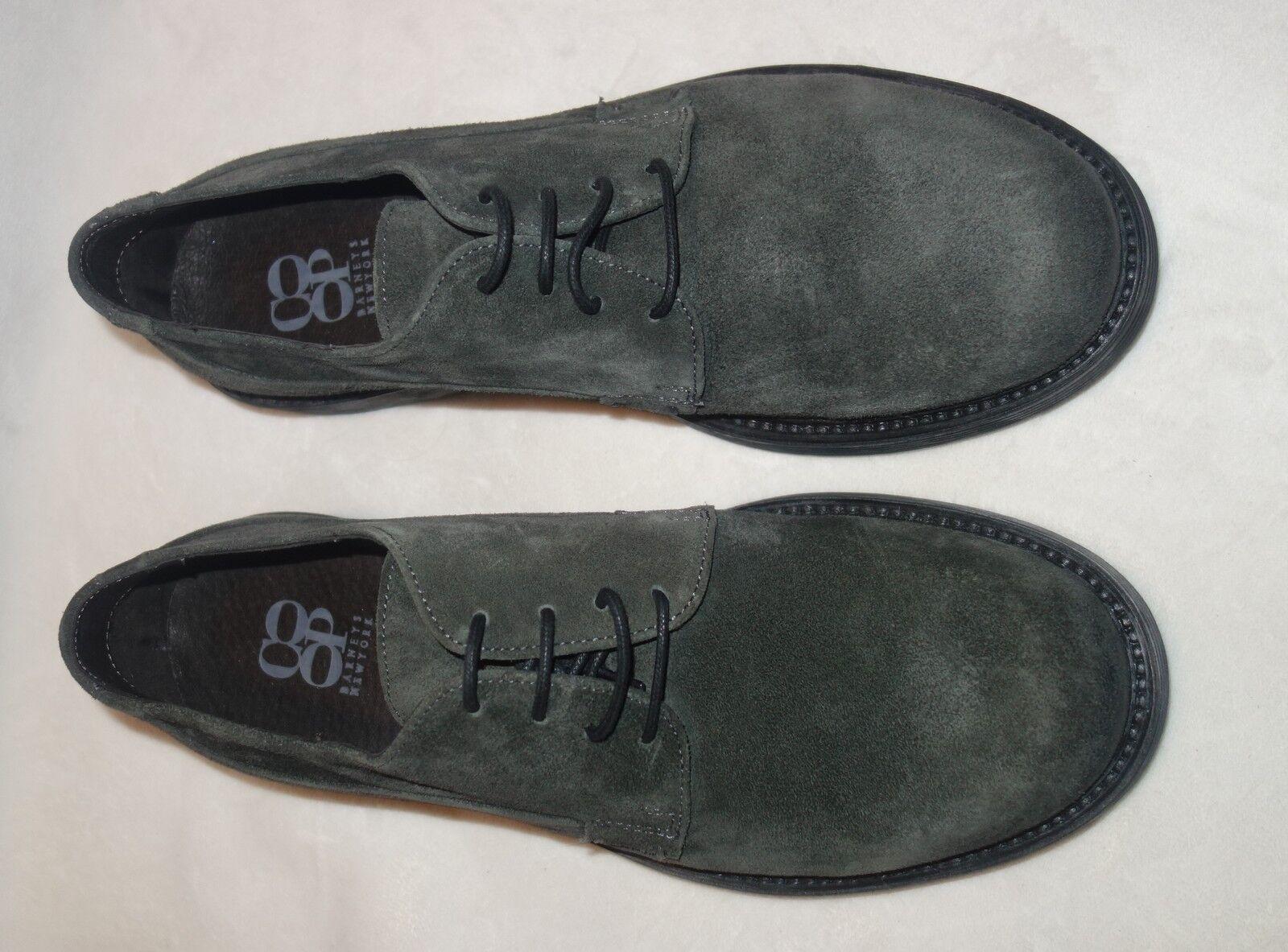 Barneys NY Uomo Grim Asfalto Grigio Size Lace Up Oxford Scarpe Size Grigio 8.5 NEW f0060c