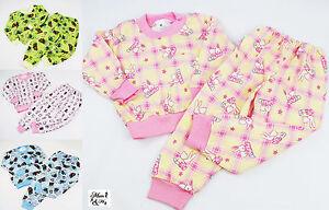 Kids Pyjama Filles Garçons Pyjama Set Babynightwear 2pcs Pyjamas T-shirt à Manches Longues-afficher Le Titre D'origine