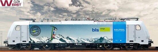 Brava 43963 e - Lok BR 186 traxx BLS wechselstrom digital sound AC H0 neu & ovp