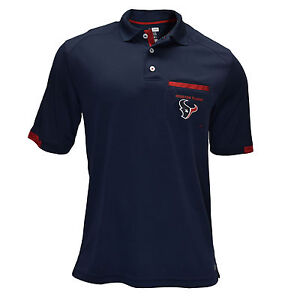 Authentic NFL Houston Texans TX3 Cool Pocket Polo Shirt with Team ... 8fd4dd078