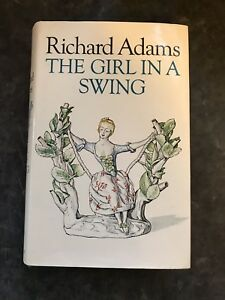 Rare-Signed-Richard-Adams-The-Girl-In-A-Swing-1st-1st-1980