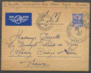 1940-Lettre-POSTE-DE-SEMAPHORE-CAP-BLANC-grand-cad-obl-1-80c-Tunisie-X3954