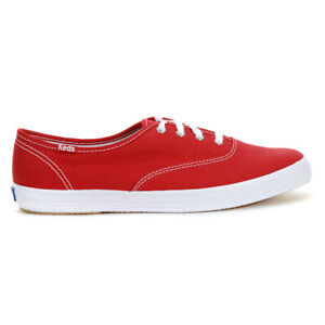 Keds Women's Champion Red Canvas Shoes