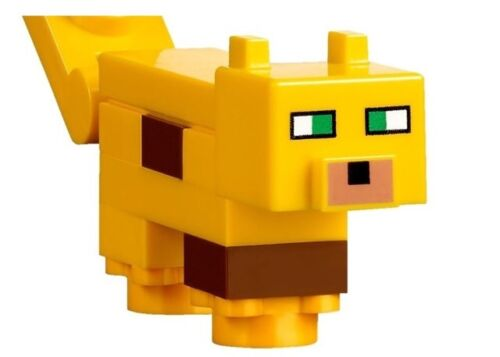 New Lego Minecraft Creeper Minifigure from set 21125 Unassembled