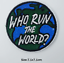 miniature 12 - Sew Iron On Round Patches Popular Badge Transfer Embroidered Funny Biker Slogan