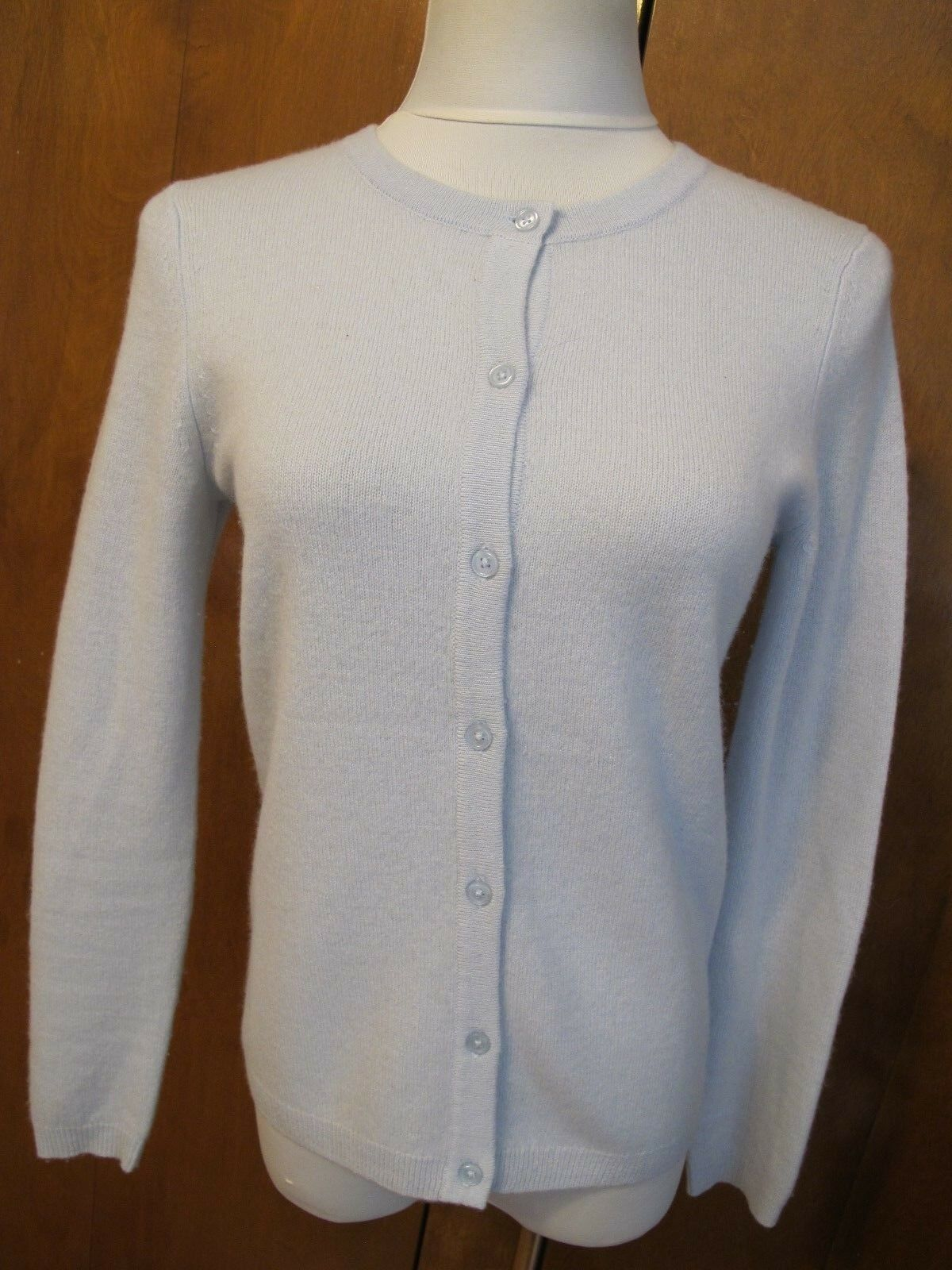 By Bloomingdale's women's bluee sky 2ply cashmere luxe cardigans Small Medium NWT