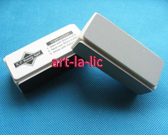 2 x Pro 4 Way Nail File Buffer Polishing Block Nail Art Manicure Nail Art Tools