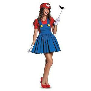 Stock photo  sc 1 st  eBay & Licensed Nintendo Super Mario Brothers Skirt Teen Girl Halloween ...