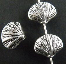 12pcs Tibetan Silver Nice Shell Spacer Beads 12x10mm 11279