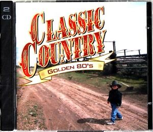 TIME-LIFE-CLASSIC-COUNTRY-Best-of-The-GOLDEN-80s-NEW-2-CD-SEALED-Mickey-Gilley