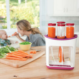 Image is loading Squeeze-Station-Fresh-Food-Storage-Pouches-For-Feeding- & Squeeze Station Fresh Food Storage Pouches For Feeding Baby Toddler ...