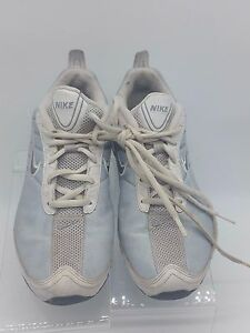 Nike Womens Rolling Rail US 7.5 Blue White Running Cross Trainer Shoes 310406