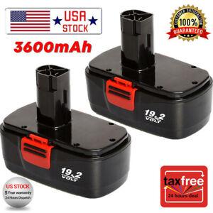 2Pack-19-2V-Battery-Replacement-For-Craftsman-19-2-Volt-C3-11376-11375-130279005