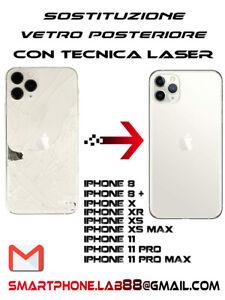 Riparazione Cambio Sostituzione Vetro Post Back Glass Apple Iphone 11 Pro Max Ebay