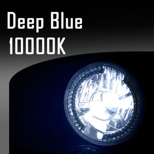 H7 10000k 10k Blue B Stark 55W HID Lights Slim Xenon All-in-1 Head Light Kit