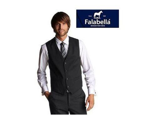 Weste für Anzug und Freizeit Falabella S M L XL XXL Dunkelblau mit Streifen