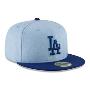 0c0a0efb Details about Los Angeles LA Dodgers New Era MLB 2018 Fathers Day 59FIFTY  On Field Cap Hat