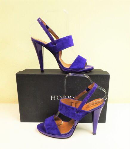 Cora Strap High Heel Size Sandal 2 5½ Uk Hobbs Purple 38 Suede Slingback Shoes 5 SH4XxSaq