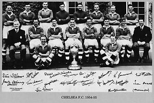 CHELSEA FOOTBALL TEAM PHOTOgt195455 SEASON - <span itemprop=availableAtOrFrom>Swindon, United Kingdom</span> - Returns accepted Most purchases from business sellers are protected by the Consumer Contract Regulations 2013 which give you the right to cancel the purchase within 14 days after the day  - Swindon, United Kingdom
