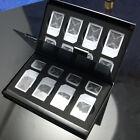 New 15in1 Aluminum SIM Micro Nano SIM Card Pin Storage Box Case Holder Protector