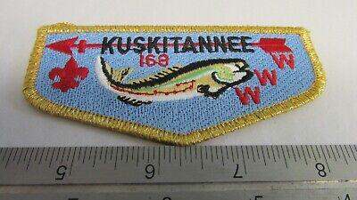 Mint 2015 NOAC-2 Piece Flap Set Lodge 168 Kuskitannee Fish