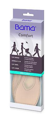 bama Comfort Brillant 3//4 Sohle Pumps Pelotte Einlage Einlegesohle Gr.36-42