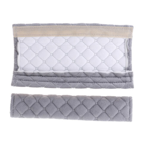 2Pcs Newborns Kids Baby Car Seat Strap Covers Soft Seat Stroller Belt Cushion