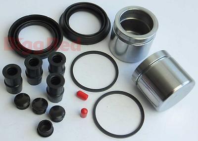 L & R Anteriore Pinza Freno Kit Di Riparazione + Pistoni Per Mg Zt 190 (brkp 74)- I Prodotti Sono Venduti Senza Limitazioni