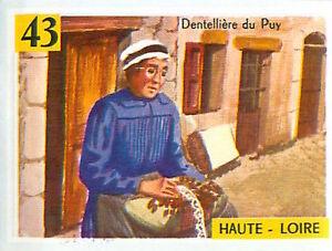 IMAGE-CARD-60s-DEPARTEMENTS-FRANCE-43-HAUTE-LOIRE-LE-PUY-Dentelliere