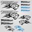 Thundercat-stickers-decal-snowmobile-arctic-cat-snowboard-quad-tuning-helmet miniature 16