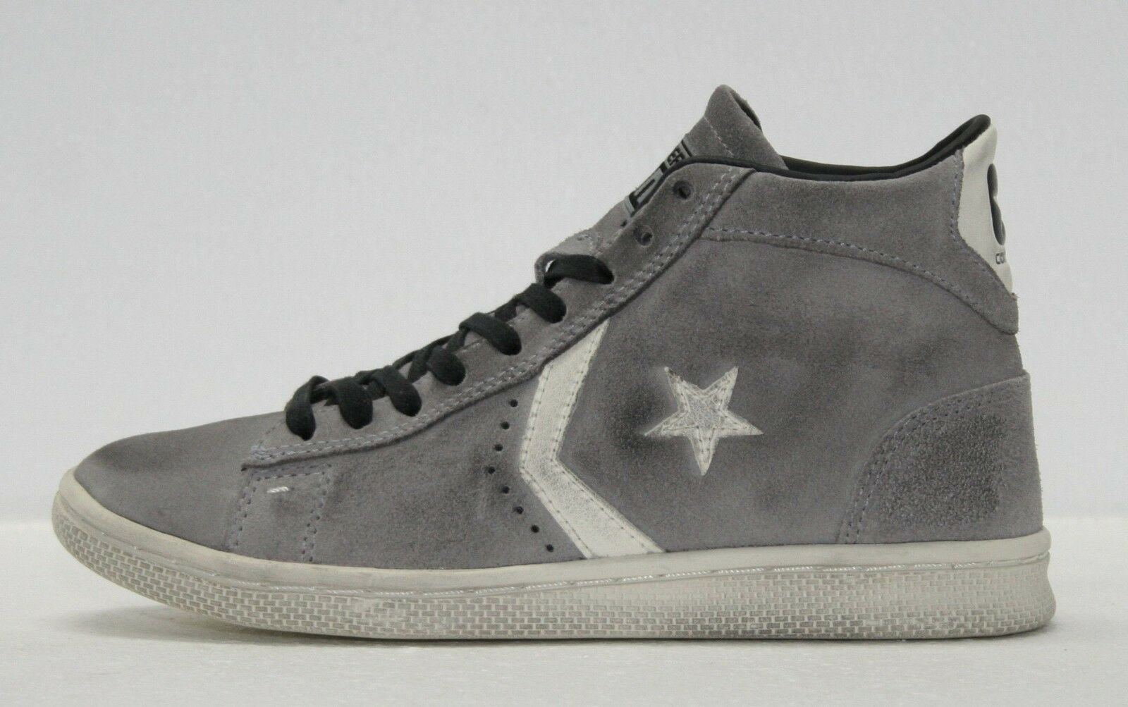 ALL STAR CONVERSE LTD PRO LEATHER MID SUEDE LTD NUOVO TG 36 37 38 39 40 41 42 44