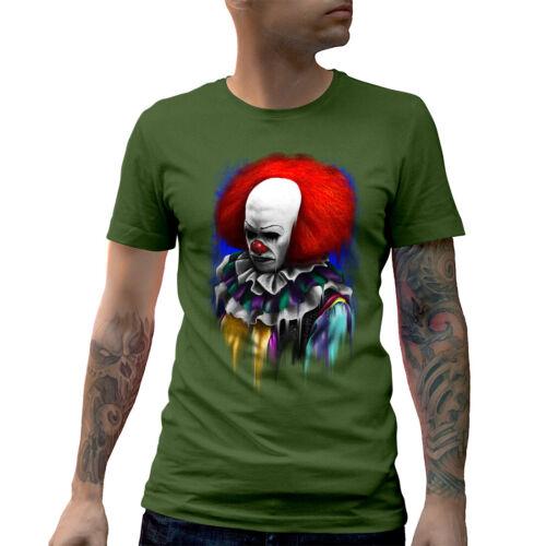 Its Playtime T-Shirt Horror Evil Clown Villain Dark Spooky Scary Circus E044